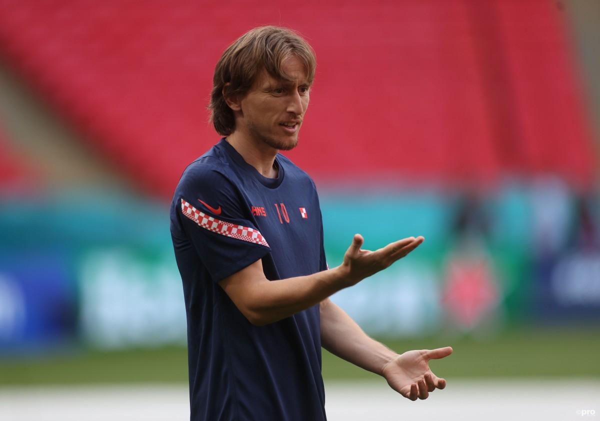 Luka Modric is preparing for Euro 2020 with Croatia