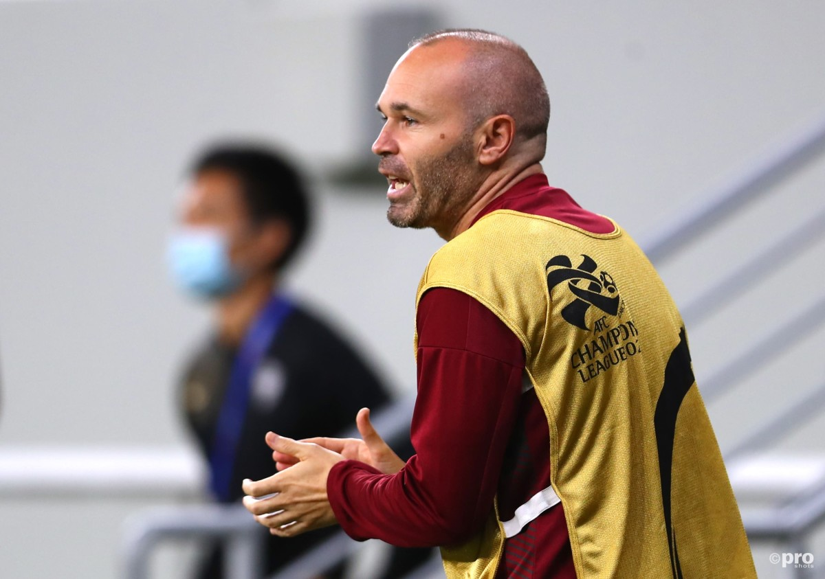 Andres Iniesta extends his contract at Vissel Kobe, will play until 39