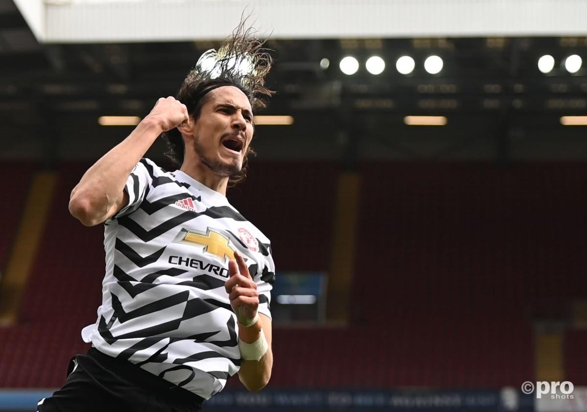 'It's massive news' – Neville delighted 'sensational' Cavani to stay at Man Utd