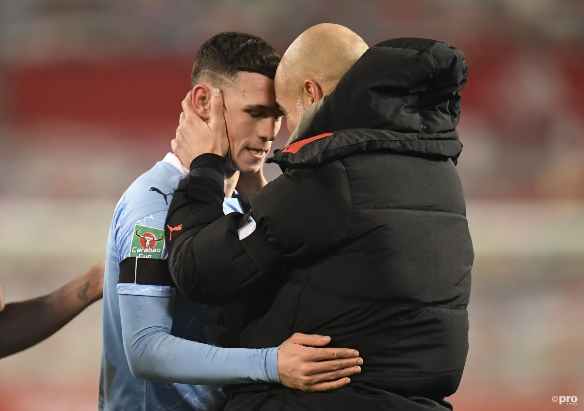 Foden defends Guardiola over Man City playing time criticism