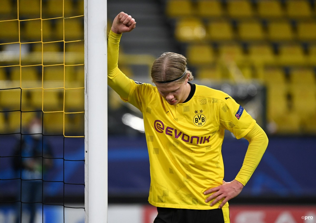 Real Madrid chief Perez confirms Erling Haaland talks