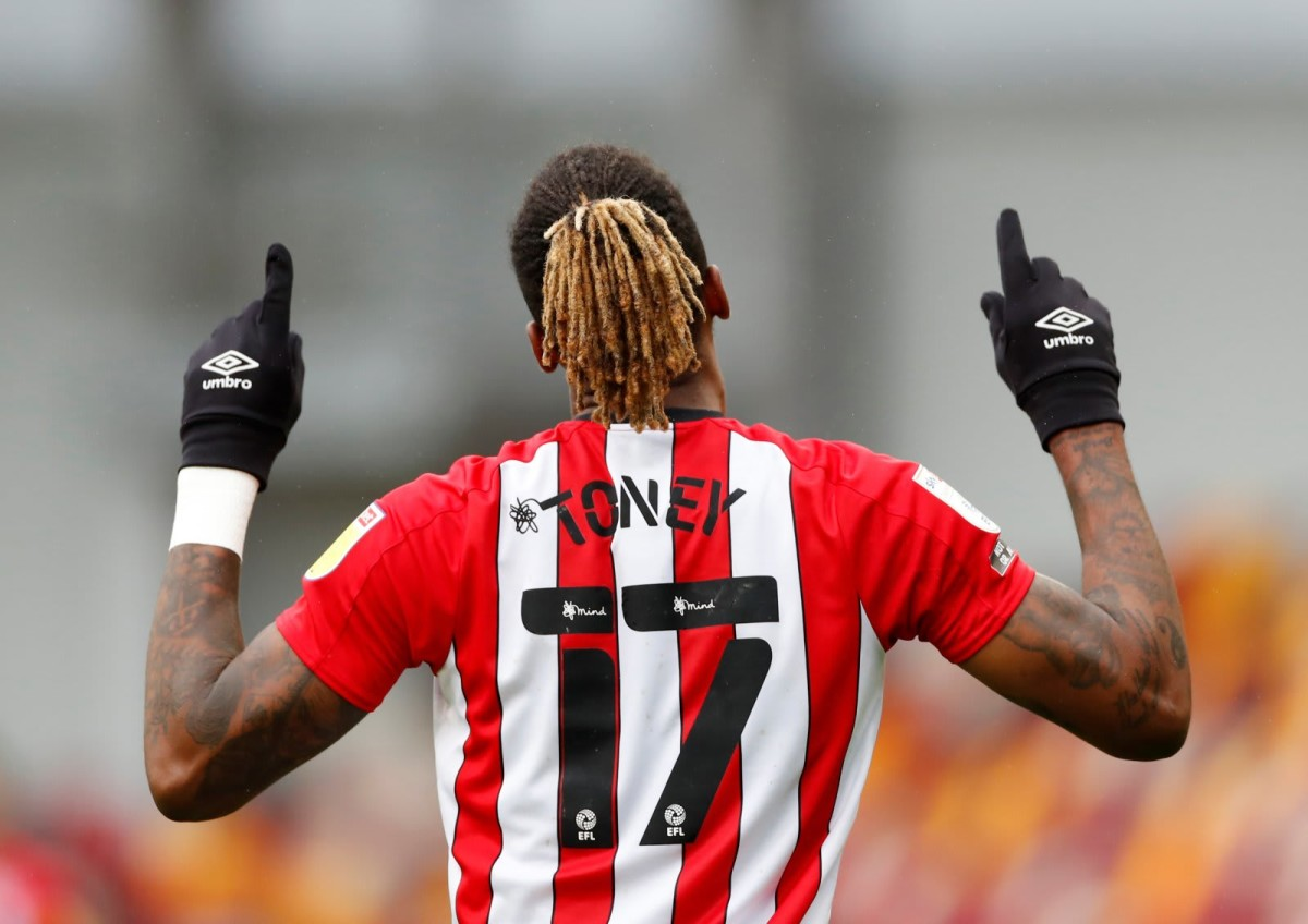 Who is Ivan Toney? The Brentford goalscorer wanted by West Ham and Arsenal