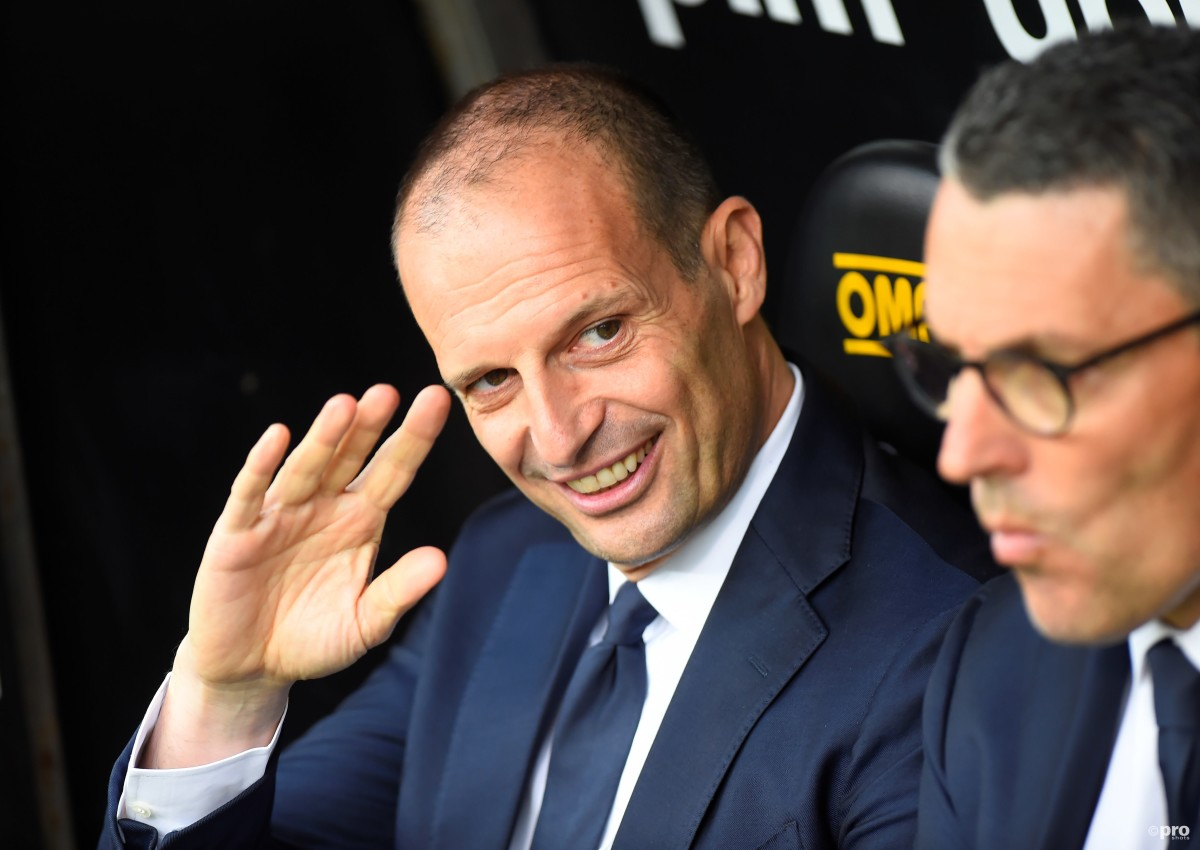 Why did Juventus announce Allegri's return with a map of Minnesota?