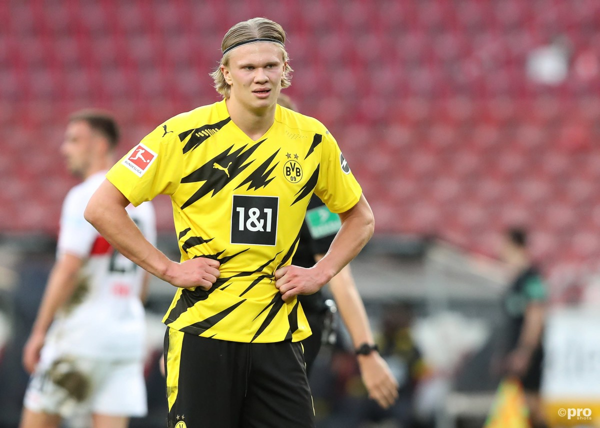 Ian Wright believes Erling Haaland will be tempted by Manchester City
