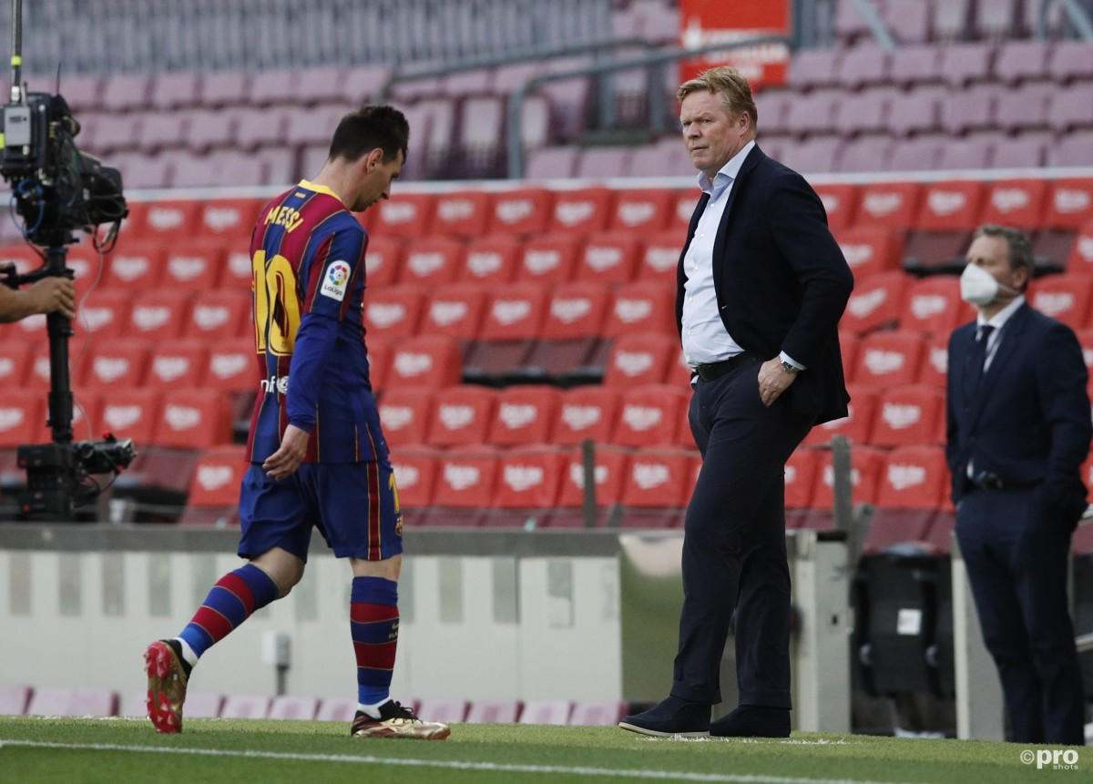 Totally reliant on Messi, why Koeman is '99 per cent likely' to be sacked