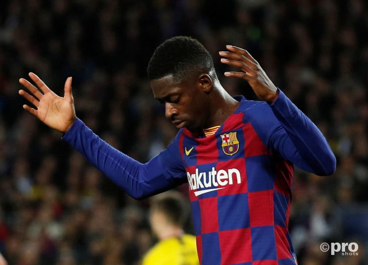 Barcelona flop Dembele 'back to his best'