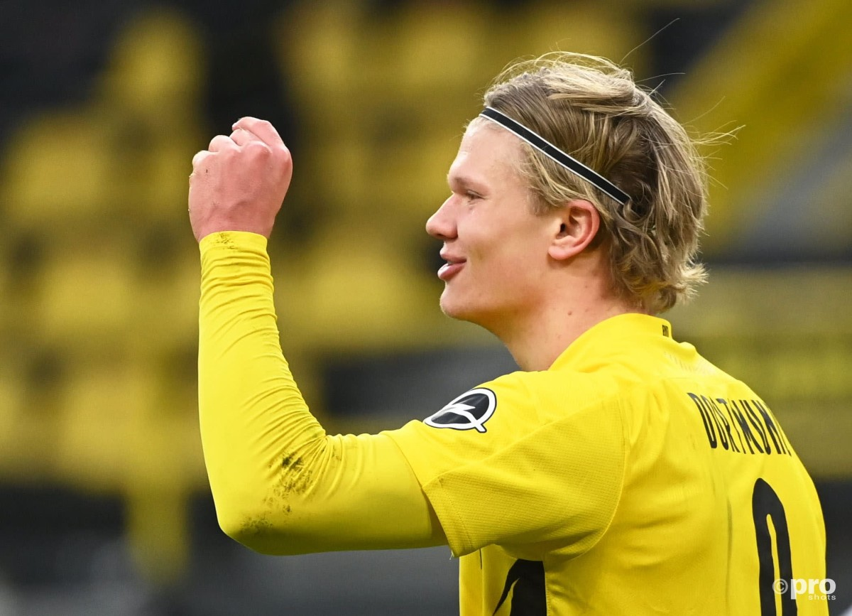 Borussia Dortmund head coach not worried about Haaland's busy agent
