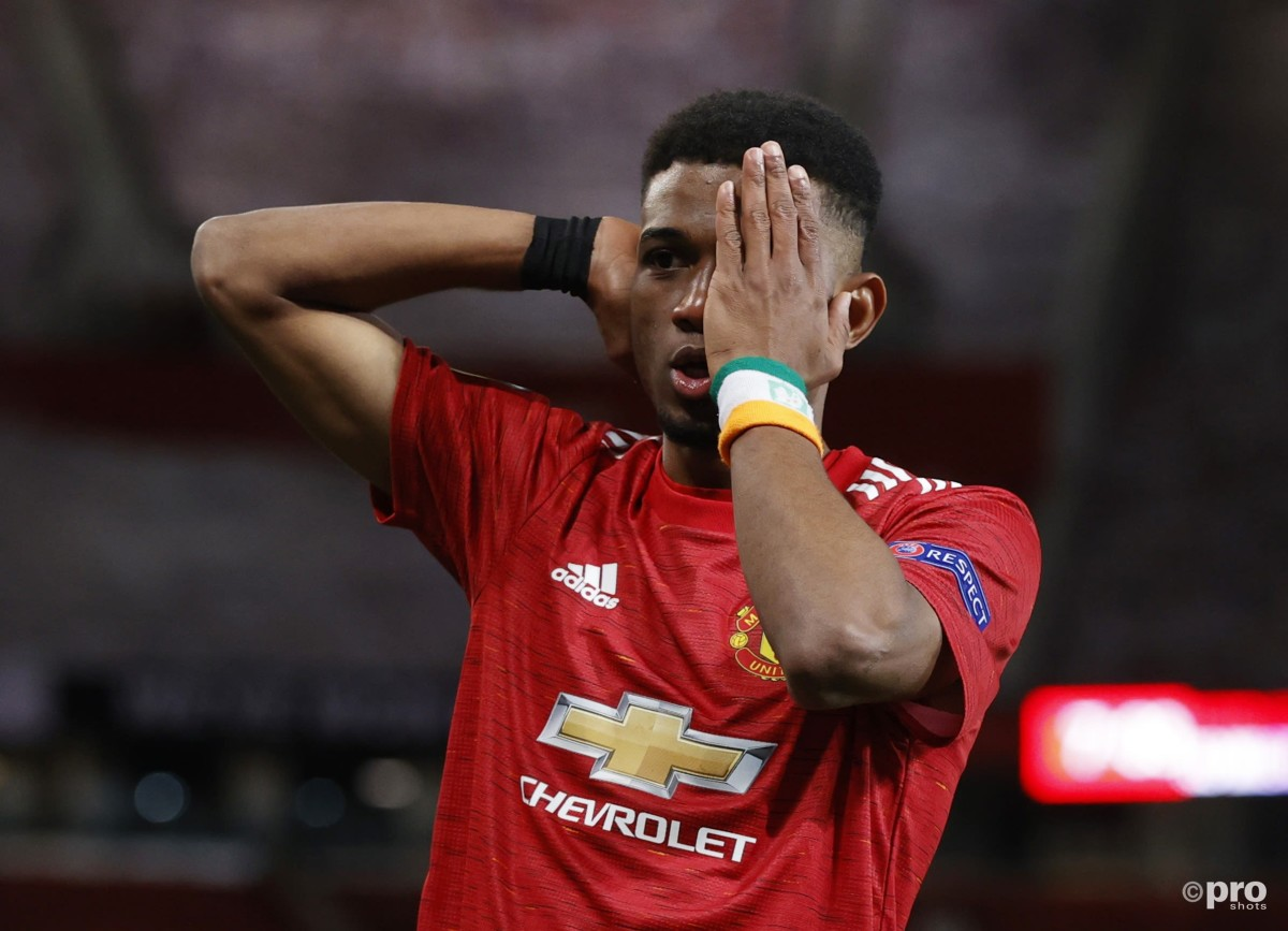 When will Amad Diallo start for Manchester United?