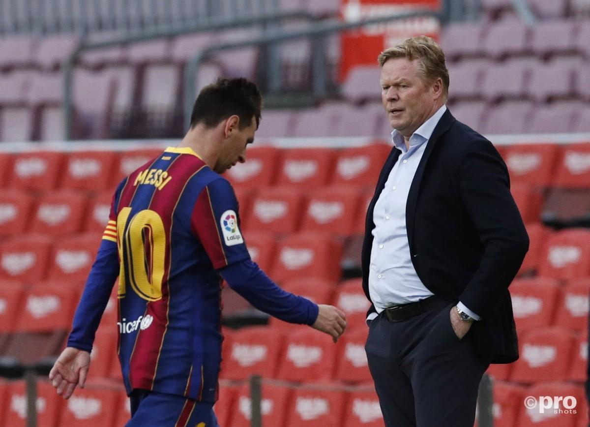 Frenkie De Jong asks Barcelona not to sack Koeman