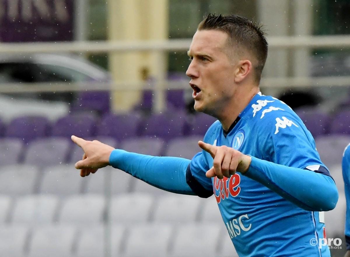 Man Utd star Fernandes talks up Napoli ace Zielinski