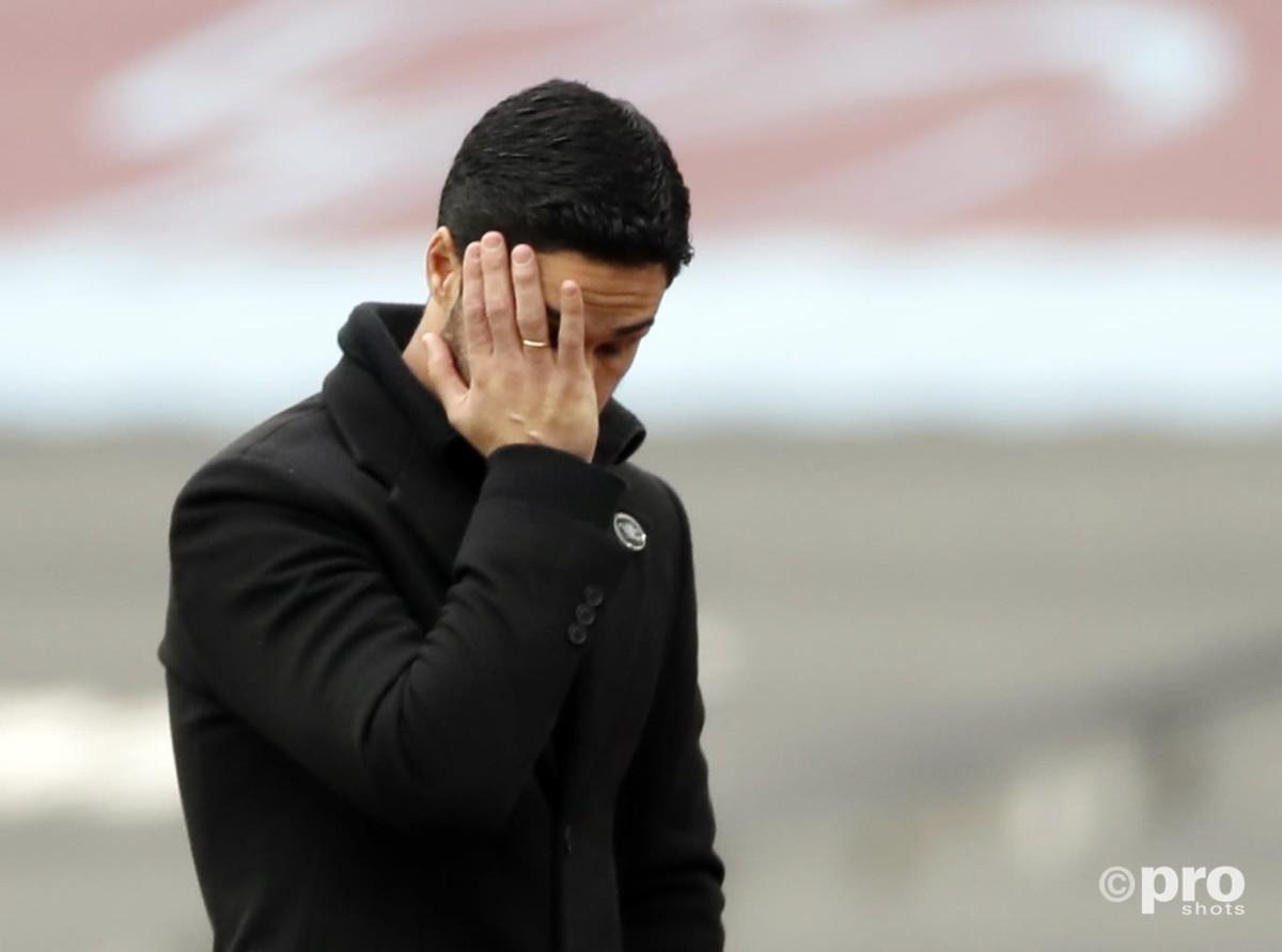 'His inexperience has cost him' – Arteta under immense pressure after Villarreal defeat