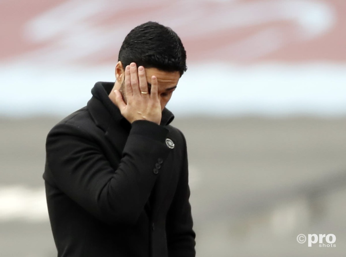 50 games, 17 defeats! The sorry Arsenal stats that show Arteta is worse than Emery