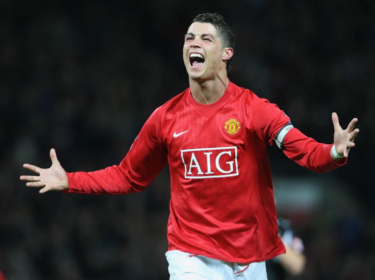 Cristiano Ronaldo at Manchester United
