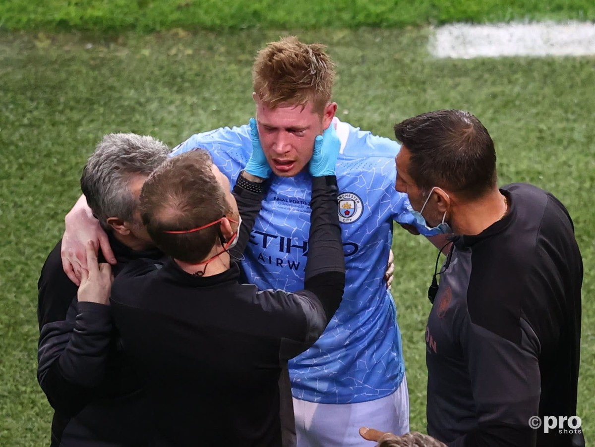 De Bruyne faces race against time for Euro 2020 after double fracture