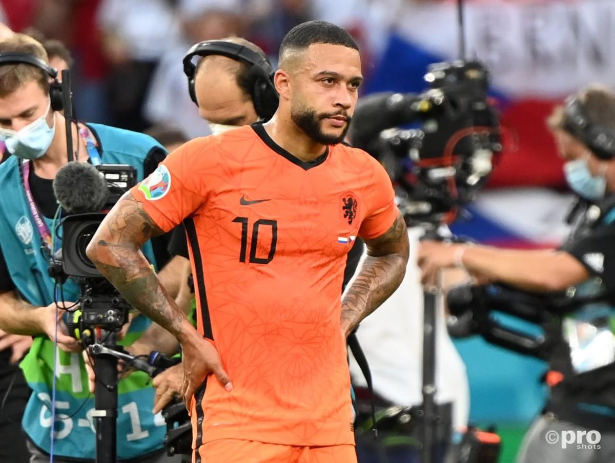 Memphis Depay, Holland v Czech Republic, Euro 2020